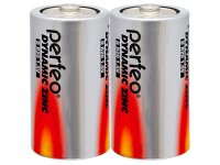 Батарейка PERFEO R20/2SH Dynamic Zinc /24