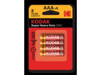 Батарейка Kodak K3AHZ-4 R03-4BL Heavy Duty 48/240  (30953321) АКЦИЯ